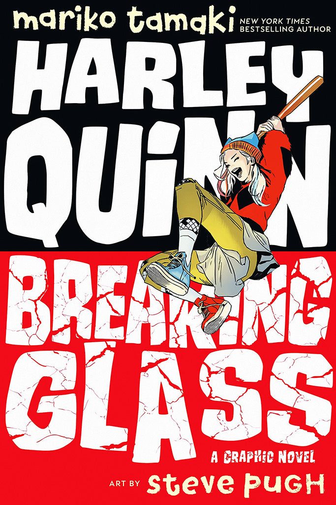 Harley Quinn  Breaking Glass Comics Poster