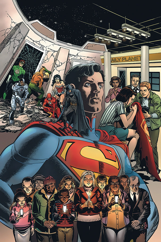 The Death of Superman The Wake Comics Poster