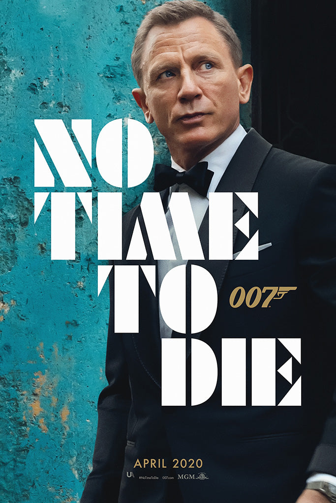 No Time To Die James Bond 007 2020 Movie Poster