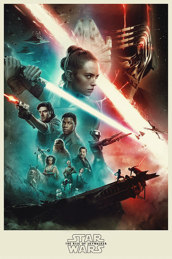 Star Wars Episode IX - The Rise of Skywalker Poster
