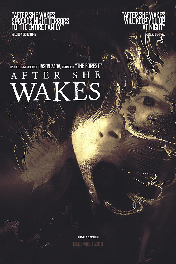 After She Wakes Movie Poster