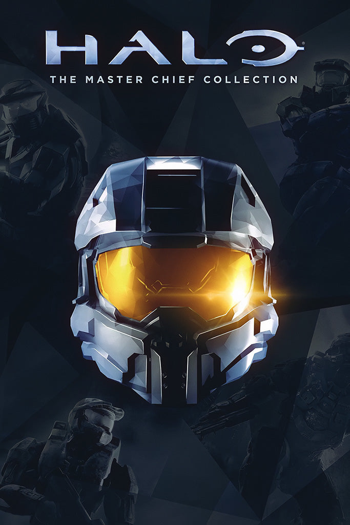 Halo The Master Chief Collection Game Poster