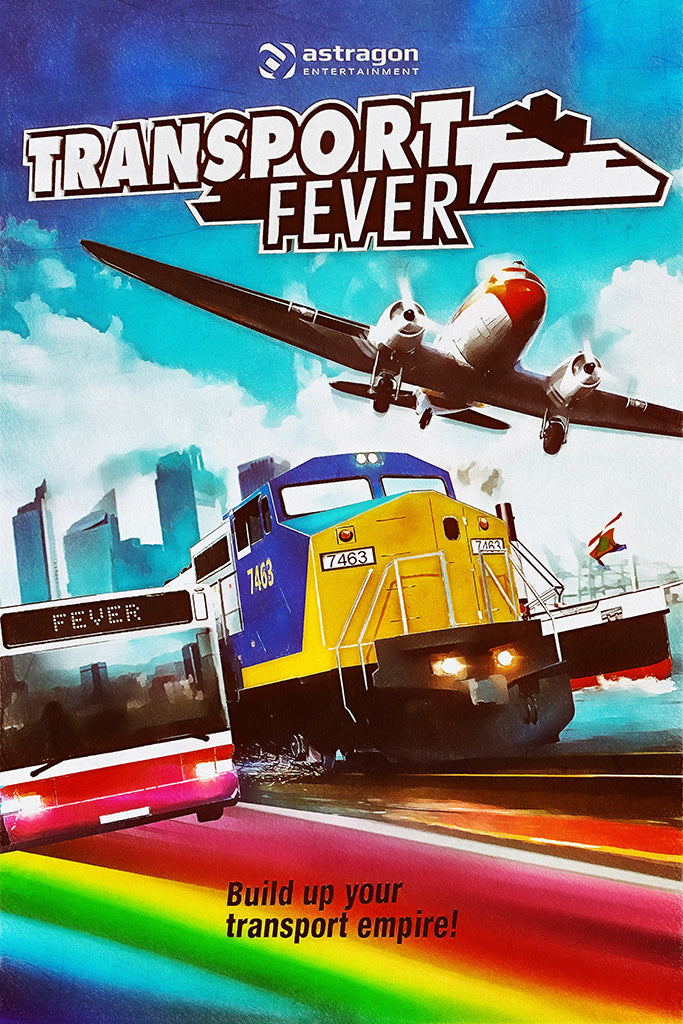 Transport Fever 2 Game Poster