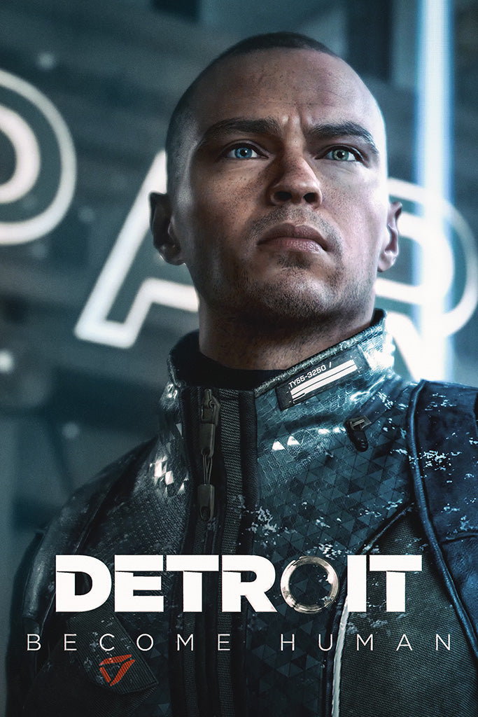 Detroit Become Human 2019 Game Poster