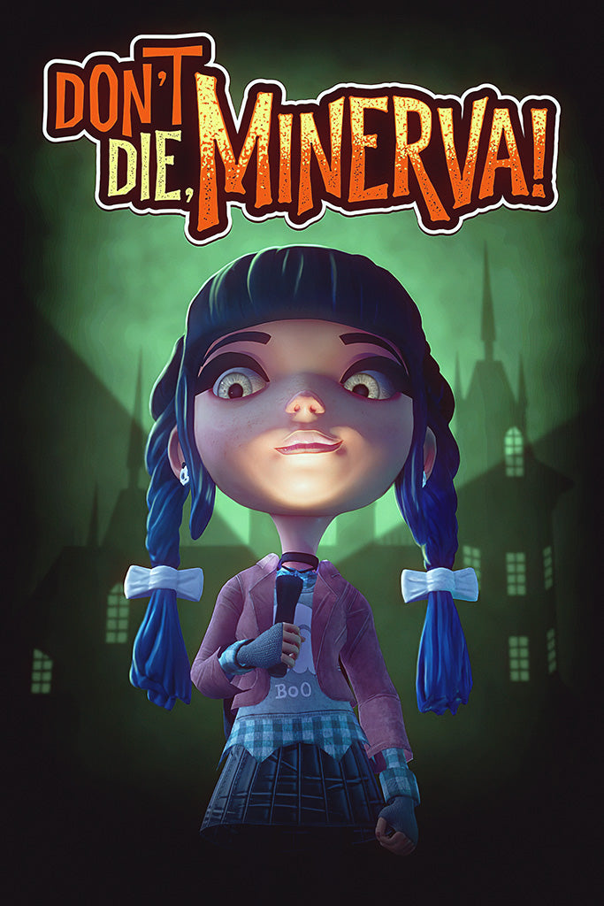 Don't Die, Minerva! Game Poster