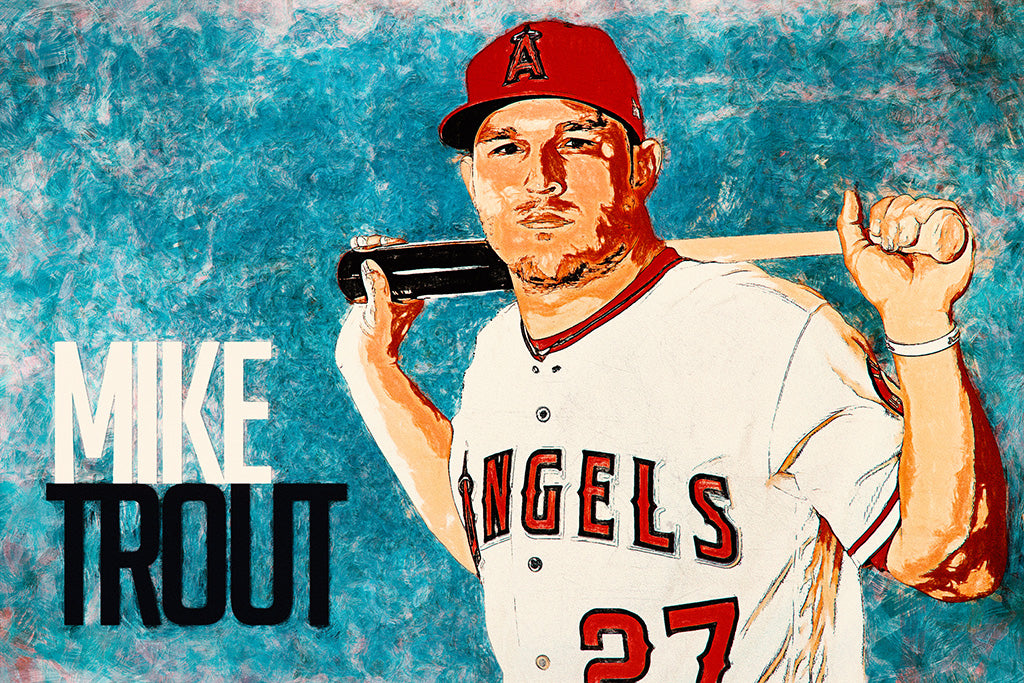 Mike Trout 2019 Poster
