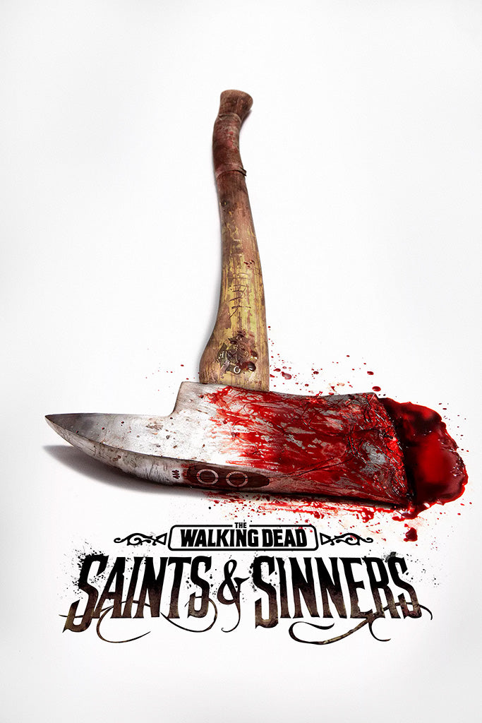 The Walking Dead Saints and Sinners Poster
