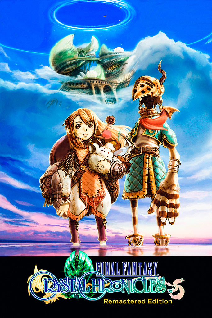 Final Fantasy Crystal Chronicles Remastered Edition Game Poster