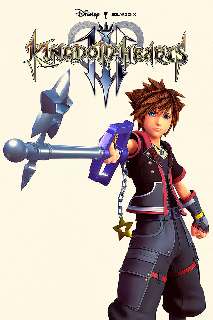 Kingdom Hearts 3 Re Mind DLC Poster