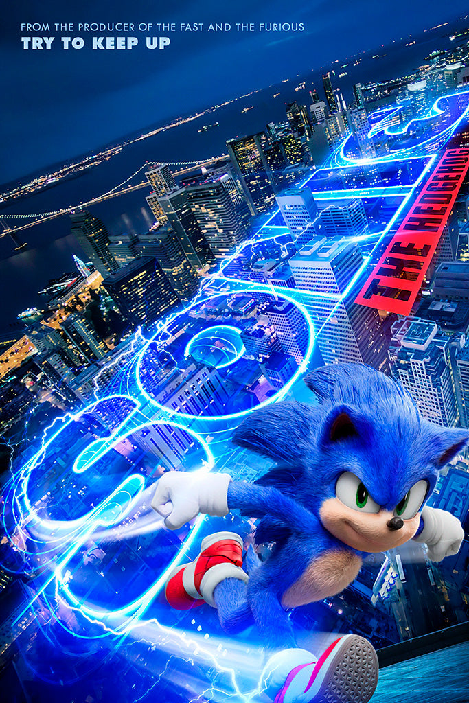 Sonic The Hedgehog Movie Poster My Hot Posters