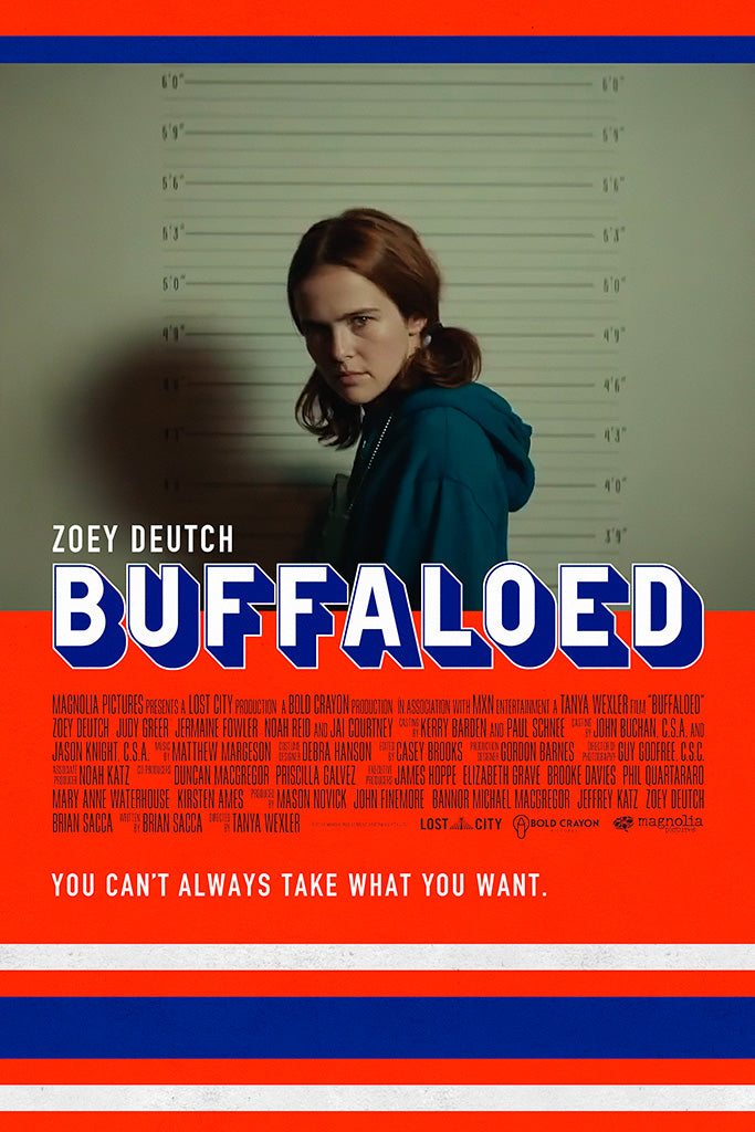 Image result for buffaloed movie poster