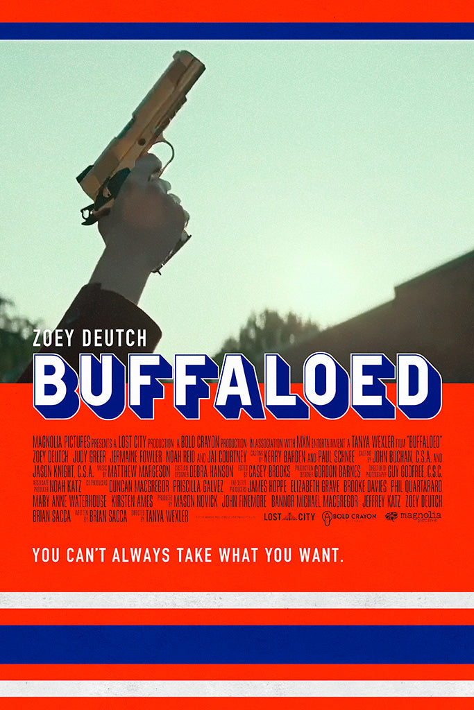 Buffaloed Film Poster