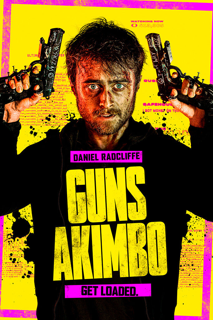 Guns Akimbo Movie Film Poster