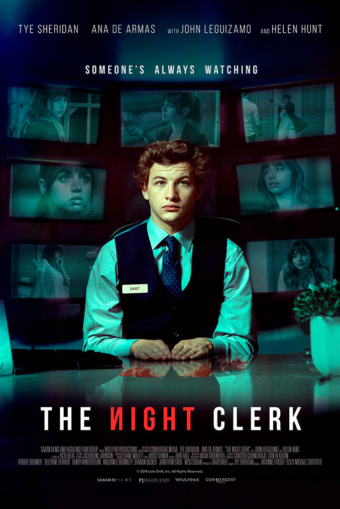 The Night Clerk Movie Film Poster