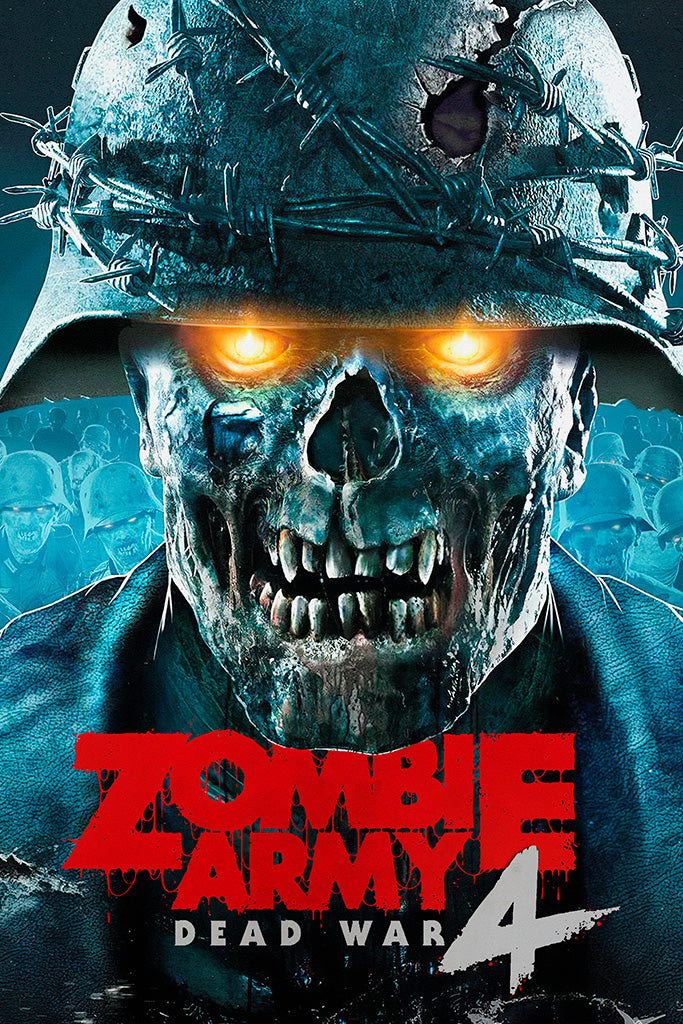 Zombie Army 4 Dead War Game Poster