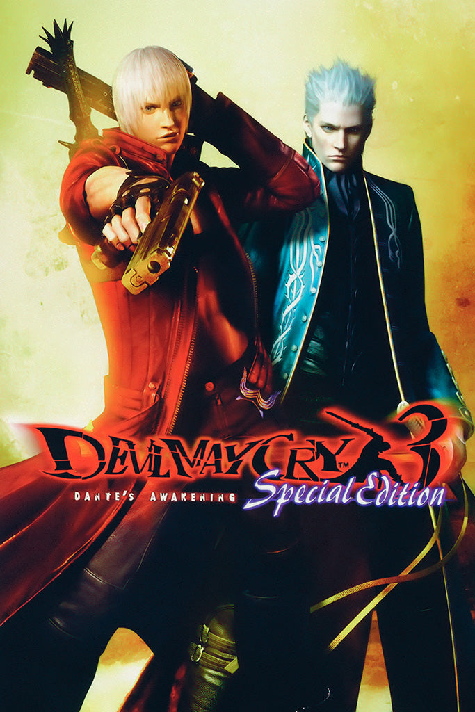 Devil May Cry 3 Special Edition Game Poster