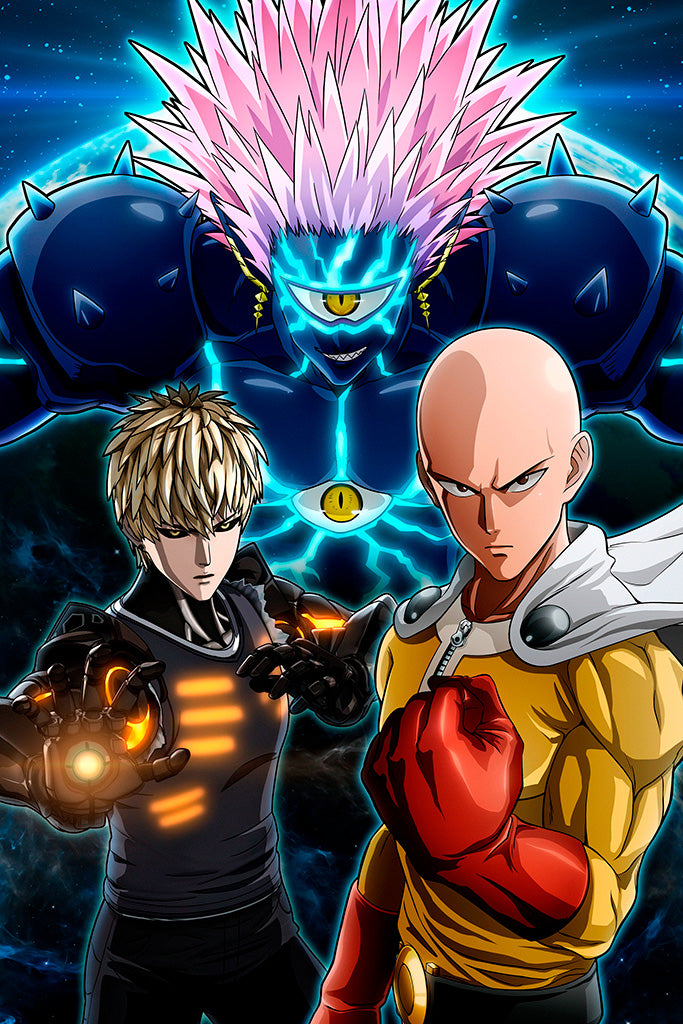One Punch Man A Hero Nobody Knows Game Poster