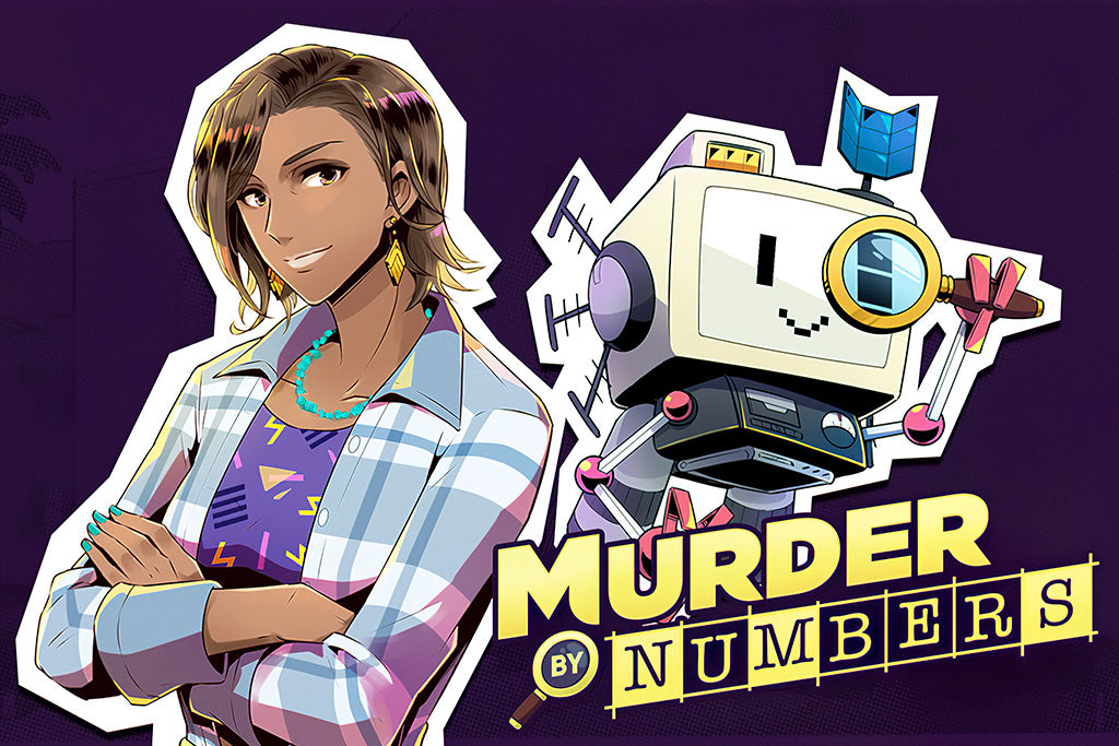 Murder by Numbers Game Poster