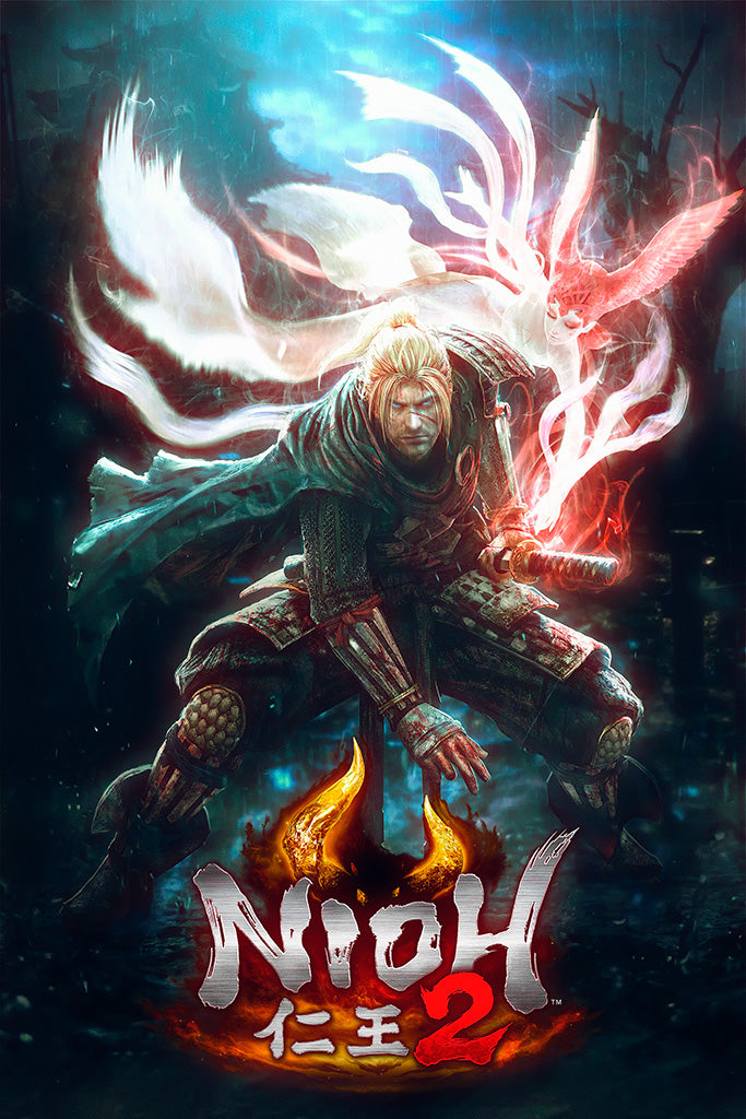 Nioh 2 Video Game Poster
