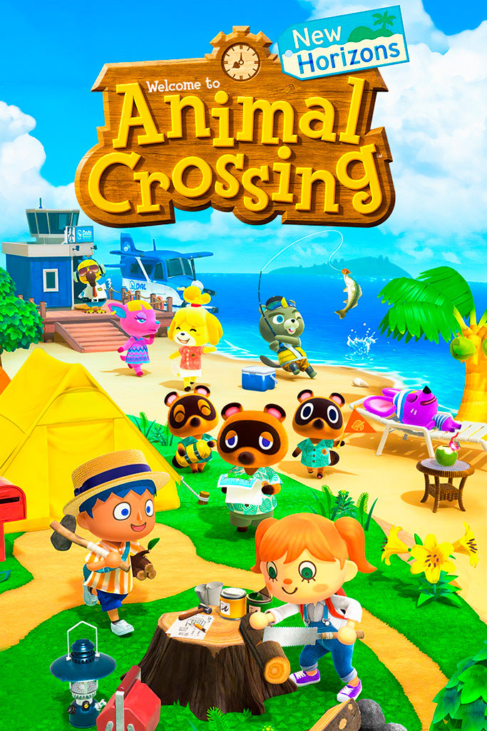 Animal Crossing Switch New Horizons Poster