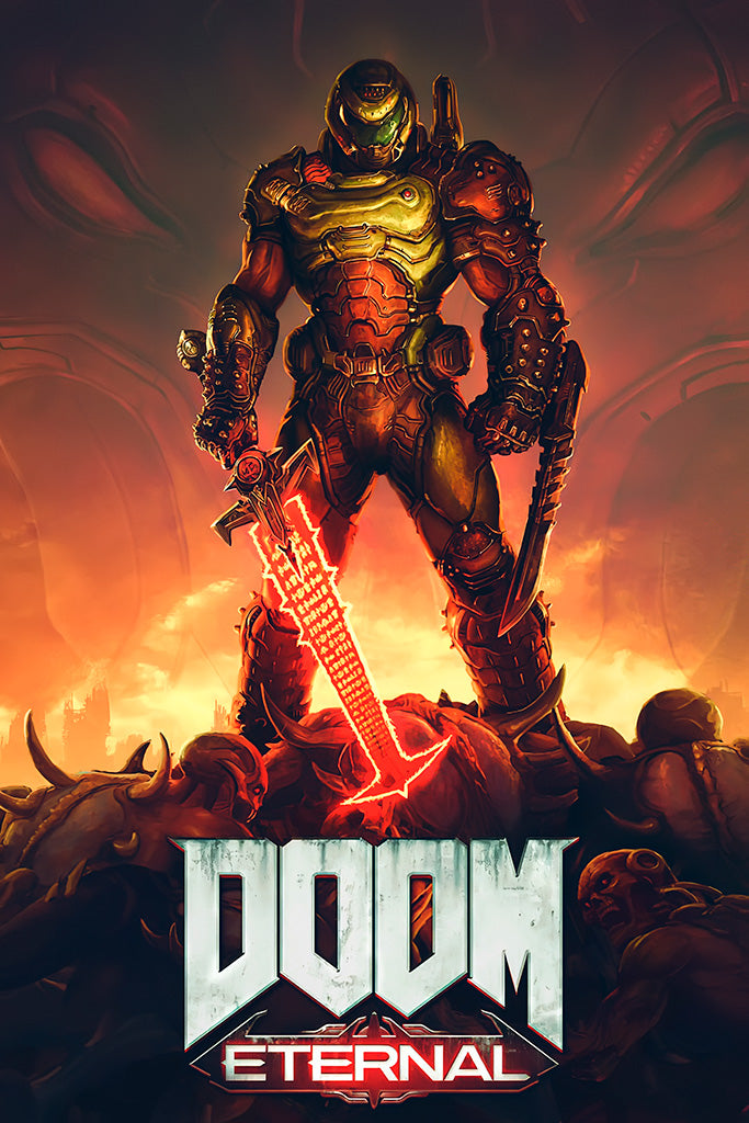 Doom Eternal Game Poster