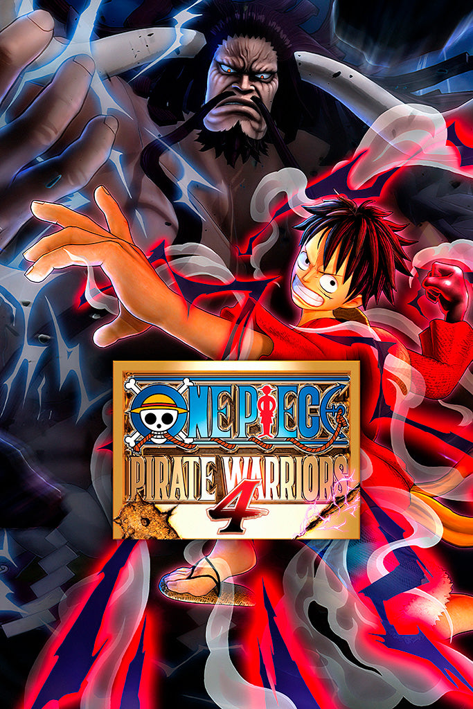 One Piece Pirate Warriors 4 Game Poster