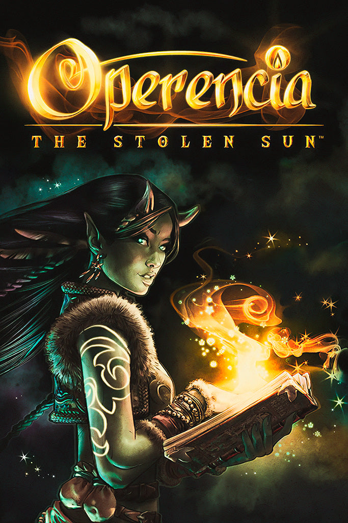 Operencia The Stolen Sun Video Game Poster