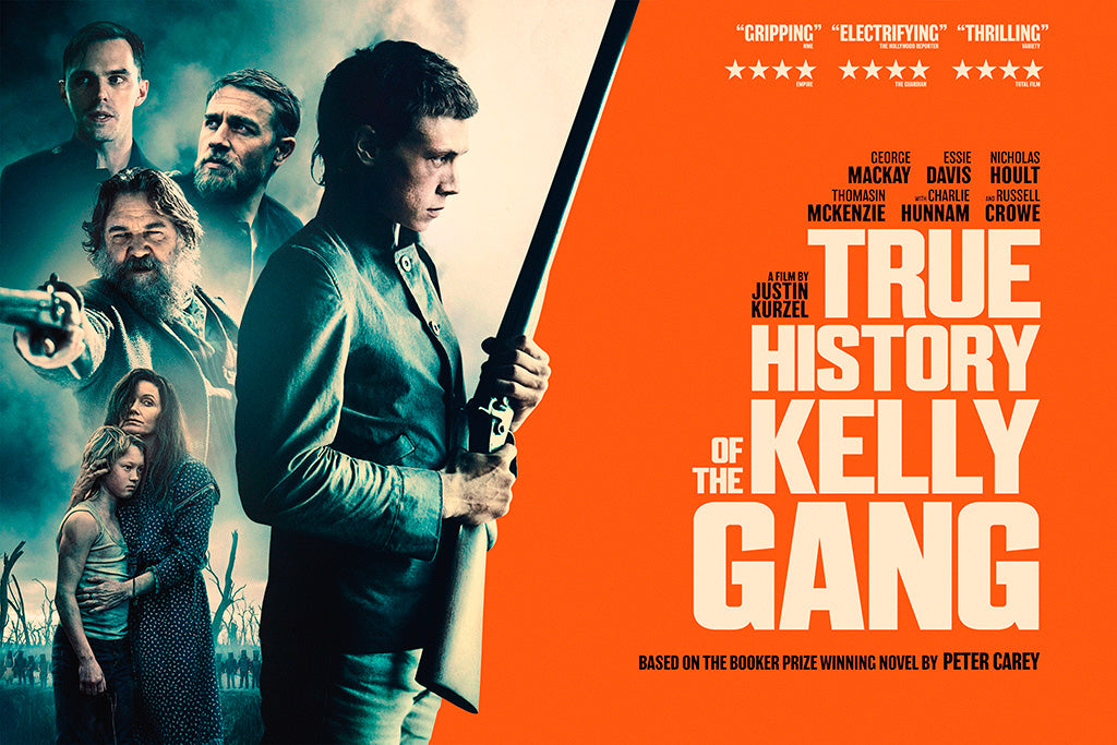 True History of the Kelly Gang Film Poster