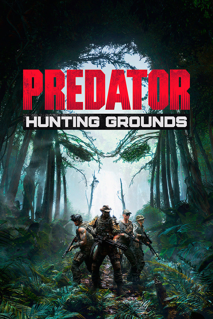 Predator Hunting Grounds Poster