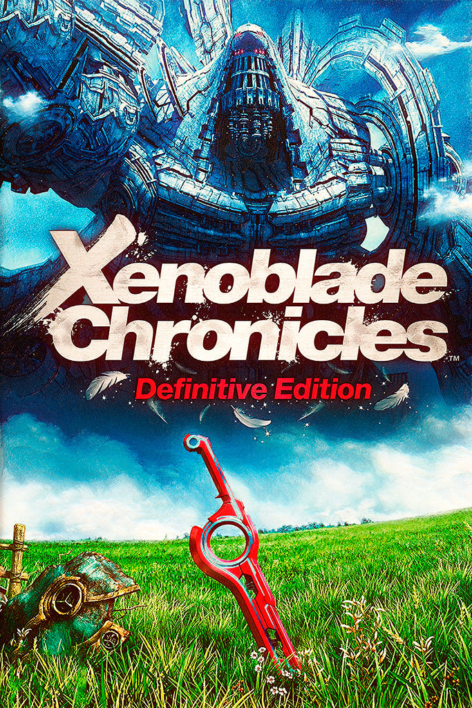 Xenoblade Chronicles Definitive Edition Video Game Poster