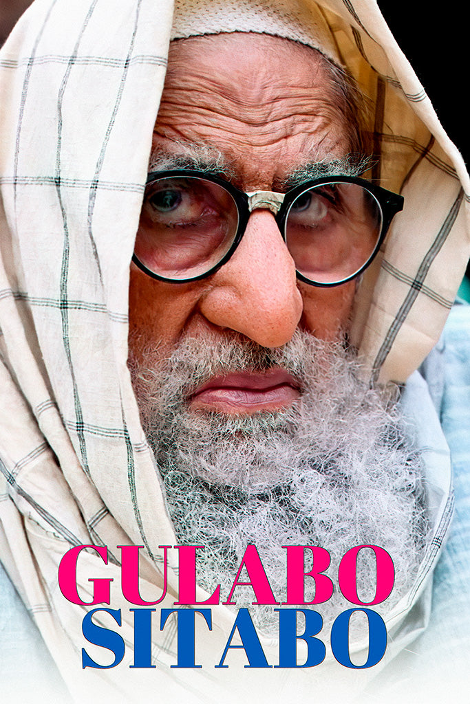 Gulabo Sitabo Movie Poster