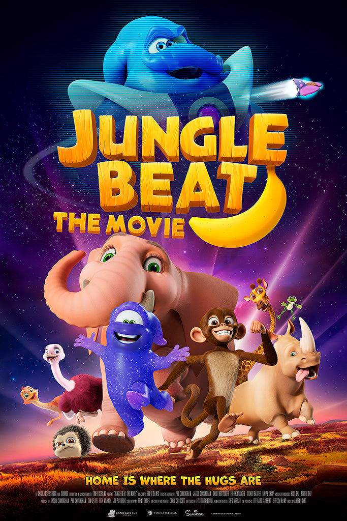 Jungle Beat The Movie Film Poster