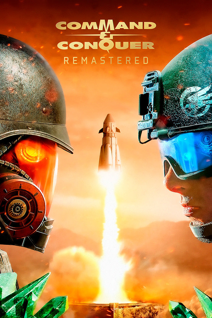 Command & Conquer Remastered Video Game Poster