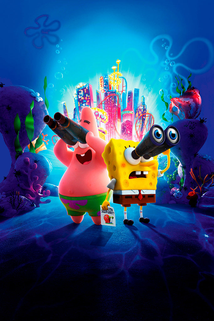 Spongebob Squarepants The Battle for Bikini Bottom Rehydrated Poster