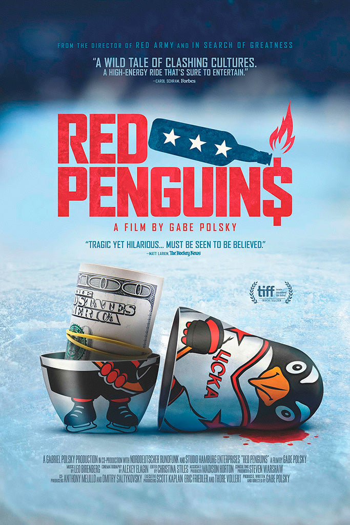 Red Penguins Movie Poster