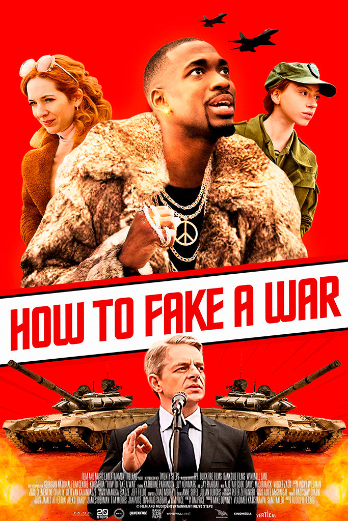 How To Fake A War Movie Poster