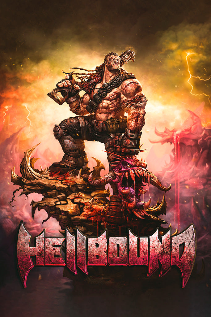 Hellbound Video Game Poster