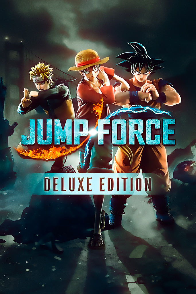 Jump Force Deluxe Edition Poster