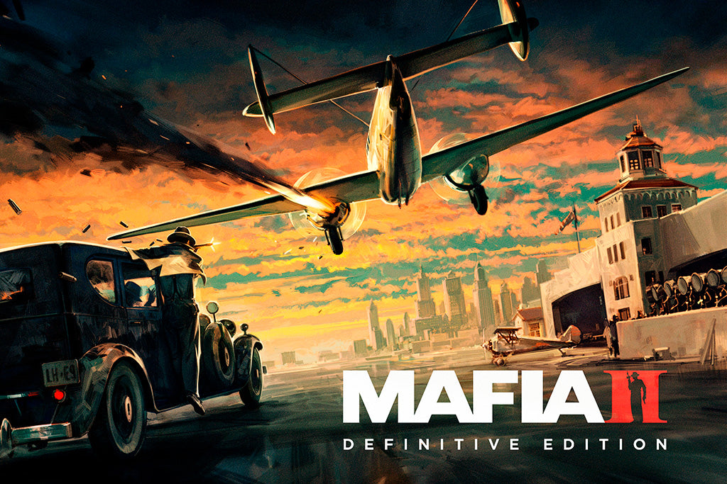 Mafia Definitive Edition Video Game Poster