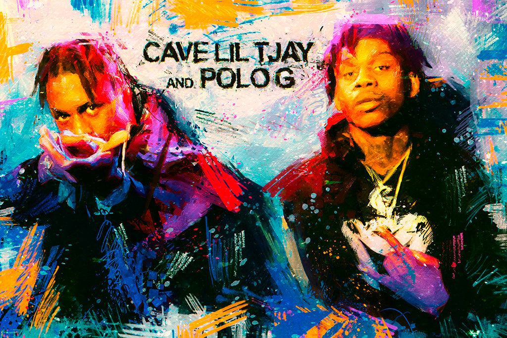 Cave Lil Tjay And Polo G Poster