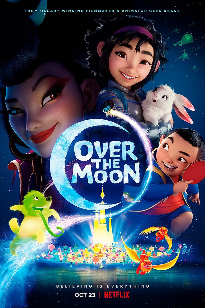 Over the Moon Movie Film Poster