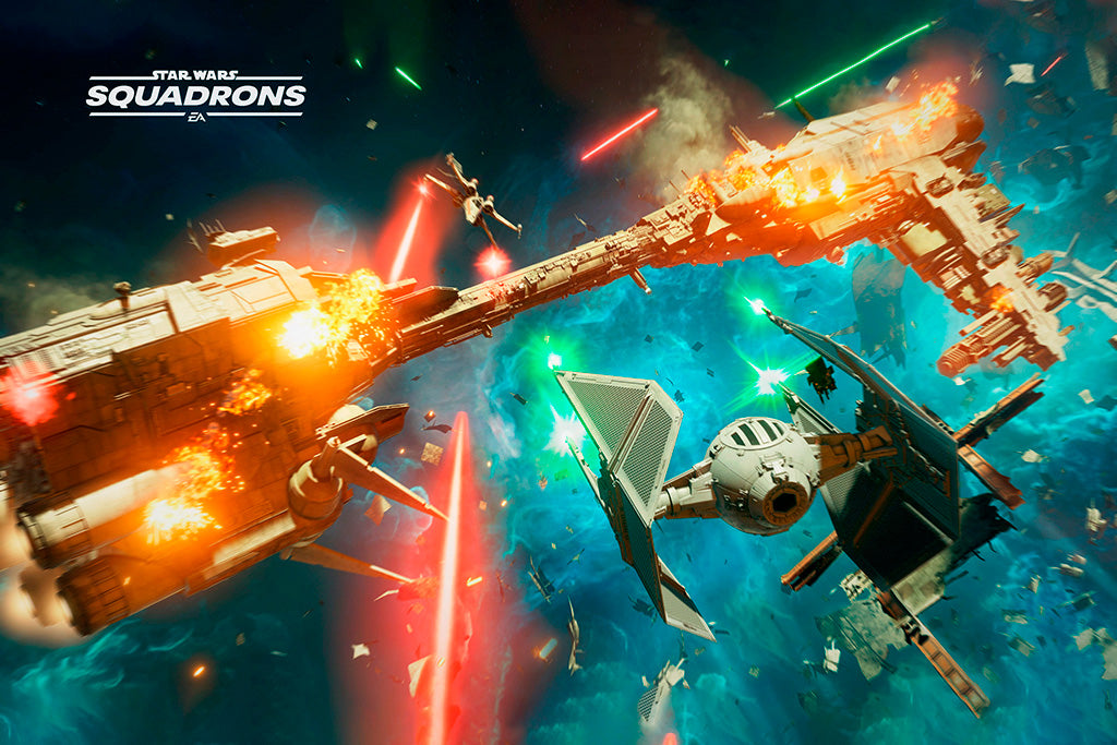 Star Wars Squadrons Video Game Poster