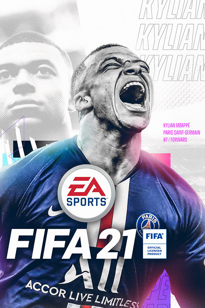 FIFA 21 Game Poster