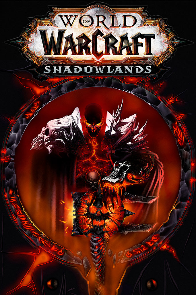 World Of Warcraft Shadowlands Game Poster