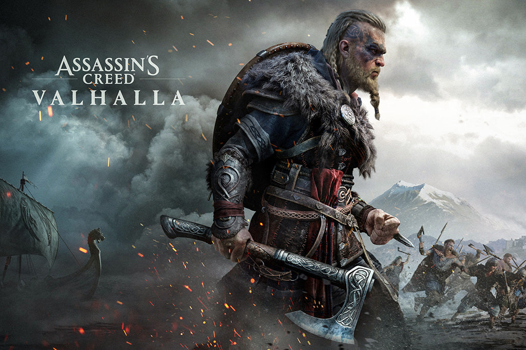 Assassin's Creed Valhalla Game Poster