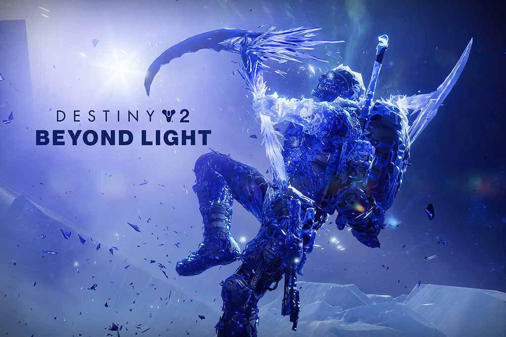 Destiny 2 Beyond Light Video Game Poster