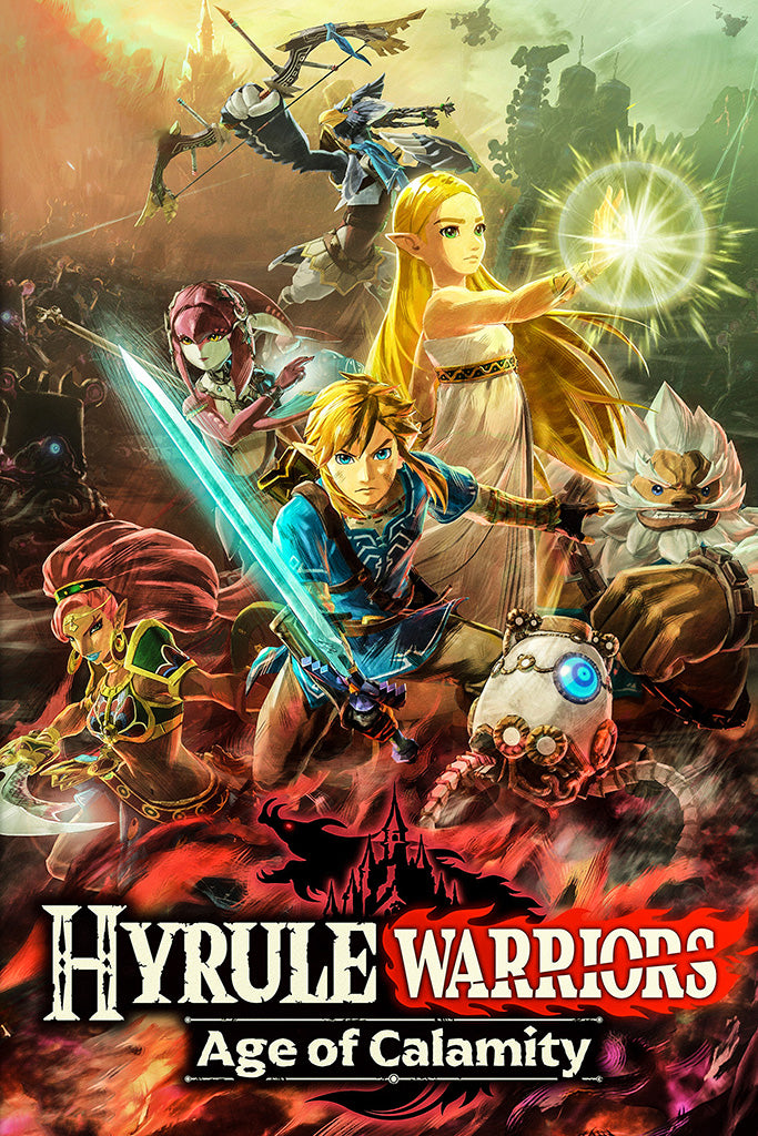 Hyrule Warriors Age Of Calamity Poster