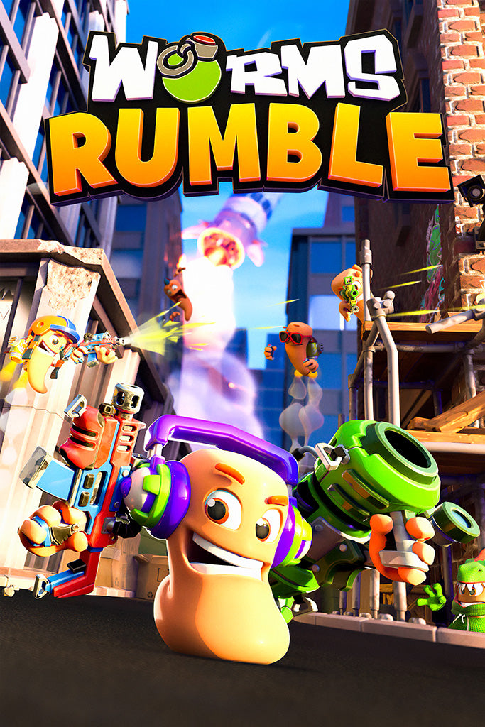 Worms Rumble Game Poster