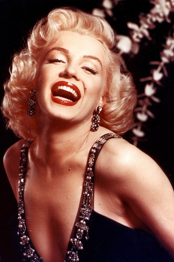 Marilyn Monroe Laughter Poster