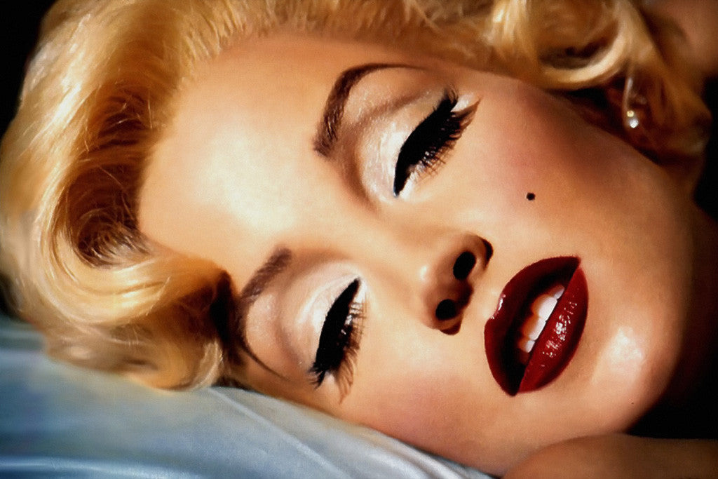Marilyn Monroe Face Lisa Marie Presley Close Poster